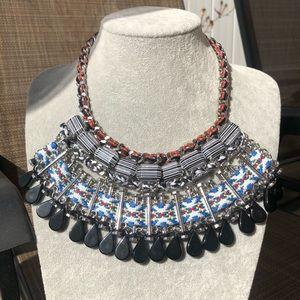 NWOT Zara Tribal Necklace